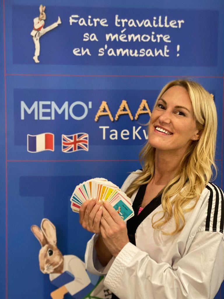 Jeu de cartes – Taekwondo The Game card Jeu de société Taekwondo.